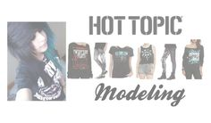 """""""I model for hot topic cx- Vanity"""" by jet-lights ❤ liked on Polyvore featuring plus size clothing"""