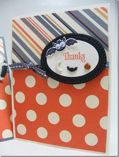 Thank you card - halloween