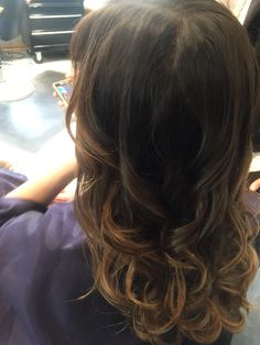Ombré at Mary's shear artistry with Lauren Wallace