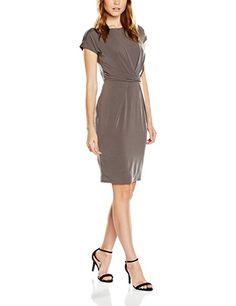 ESPRIT Collection Damen Kleid 086EO1E043, Braun (Brown 210), 40 (Herstellergröße: L) #mode #fashion #sale #lookgood #jeans #modern #lady