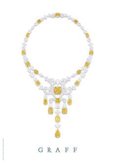 Yellow and white diamonds, Graff
