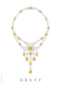 Yellow & White Diamonds