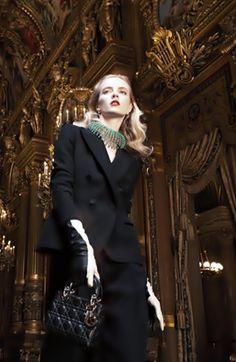 Dior lança coleção na Opéra Garnier, Paris