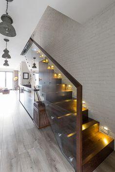 Podświetlane schody