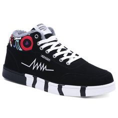 GET $50 NOW   Join RoseGal: Get YOUR $50 NOW!http://www.rosegal.com/casual-shoes/suede-printed-panel-flocking-skate-952756.html?seid=2275071rg952756