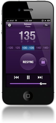 Sync Step magically matches your music to your running pace.  WOOT!