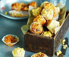 Recipe Mediterranean Mini Muffins by CSIRO Total Wellbeing Diet, learn to make this recipe easily in your kitchen machine and discover other Thermomix recipes in Baking - savoury. Savory Muffins, Savory Snacks, Mini Muffins, Healthy Snacks, Healthy Eating, Diet Recipes, Cooking Recipes, Healthy Recipes, Csiro Total Wellbeing Diet