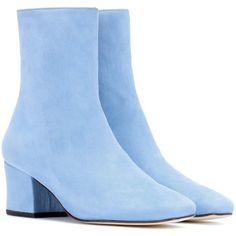 Shop Dorateymur designer fashion for women across dozens of stores in a single destination. Dr Shoes, Sock Shoes, Cute Shoes, Shoes Heels Boots, Me Too Shoes, Heeled Boots, Baby Blue Shoes, Blue Boots, Suede Ankle Boots