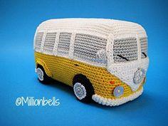 Haakpatroon Amigurumi Bus Camper Busje Retro Klassiek Bus Auto   Etsy