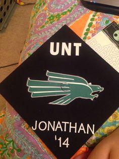 Decorated my best guy friend's graduation cap.