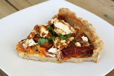 Gluten-Free Heirloom Tomato and Goat Cheese Tart I love the abundance of tomatoes this time of year. I only had room to plant one heirloom Paul Robeson tomato plant and an heirloom black cherry tom...