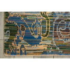 Lovely, luminous shades of blue and green hint at oceanic currents, weaving a tapestry of color and movement. Mysteriously stylized figural motifs float across the surface, adding … Traditional Area Rugs, Rug Shapes, Color Stories, Abstract Shapes, Jewel Tones, Shades Of Blue, Weaving, Kids Rugs, Tapestry