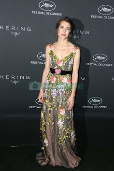 Charlotte Casiraghi attends the Kering diner during the 70th Annual Cannes Film Festival in Cannes, southern France on May 21, 2017. Photo by Jerome Domine/ABACAPRESS.COM