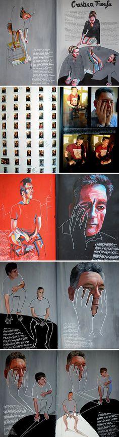 Development of ideas A Level Art - 100% (A*) project by Emily Fielding, Kennet School