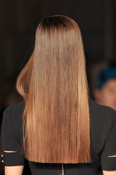 Brazilian smoothing with keratin, all about the technique and its advantages - New Trend Hair Styles Long Blunt Haircut, Trendy Haircut, Long Blunt Cut, Beautiful Long Hair, Gorgeous Hair, Long Hair Cuts, Long Hair Styles, One Length Haircuts, Shoulder Haircut
