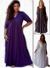 Stunning Boho Lagenlook Dripside Empire Maxi  Dress 10 12 14 16 18 20 22 24 26