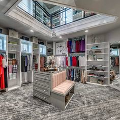 """15.5k Likes, 418 Comments - Interior Design & Home Decor (@inspire_me_home_decor) on Instagram: """" OMG talk about a dream walk in closet!!! By Authentic Custom Homes"""""""
