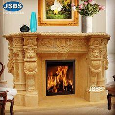 Grand Marble Fireplace Mantel www.jsbluesea.com info@jsbluesea.com whatsapp wechat:0086-13633118189 #fireplace #marblefireplace #marblefireplacemantel #fireplacemantel #jsbsmarble #jsbsstone #JSBS #renovation #restoration #marbledecor #housedecor Marble Fireplace Mantel, Marble Fireplaces, Fireplace Mantels, Marble Columns, Stone Columns, Chinese Valentine's Day, Marble Carving, Stone Fountains, Stone Veneer