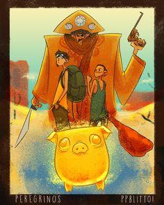 Peregrinos e o Porco de Ouro