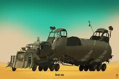 Mad Max: Greatest Rides - Created by Ido Yehimovitz