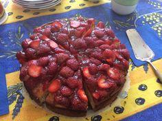 Mansikkakakku Bon Appetit, Strawberry, Fruit, Food, Essen, Strawberry Fruit, Meals, Strawberries, Yemek
