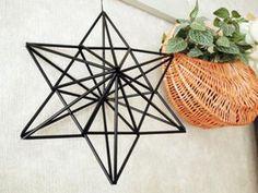 【簡単】ストローで作る北欧のモビール♡ヒンメリ(Himmel)がおしゃれすぎる♡ - NAVER まとめ Geometric Decor, Geometric Shapes, Diy And Crafts, Crafts For Kids, Diy Straw, Christmas Crafts, Christmas Ornaments, Handmade Ornaments, Xmas Tree