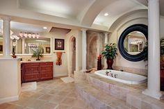 LOVE this bathroom...so fancy!