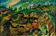 Antonio Ligabue, Il circo, 1928 1939 - CoSA   Contemporary Sacred Art