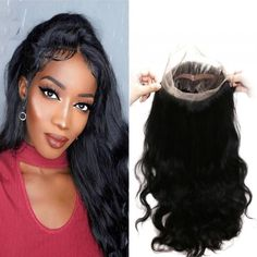 Hair Extensions & Wigs Longqi Pre Plucked 360 Lace Frontal With Brazilian Body Wave Hair 2 3 Bundles With 360 Frontal Closure Human Hair Weave Remy In Pain