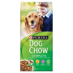 Purina Dog Chow Complete Dry Dog Food 42lb Bag, Burmese Beige