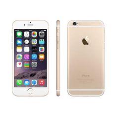 """iPhone 6 64GB Dourado Tela Retina HD 4.7"""" A8-1.4GHZ IOS 8.0 Câmera 8MP 4G"""