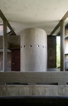 Mill Owners Association Building - Le Corbusier, 1954 - Ahmedabad, IN