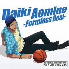 Kuroko no Basuke_Solo Mini Album_Aomine Daiki -Formless Beat-