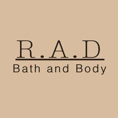 We've partnered with R.A.D Bath + Body to give two lucky winners each a bar of their natural soap and a shea butter solid in choice of scent