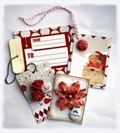 Gifttags for Christmas made by Dt Ann-Katrin for anma.no