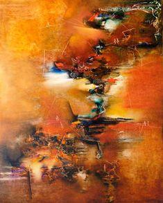 """""""De ahora y de siempre"""" - Helena Distéfano - Oleo sobre tela - 150 x 120 cm. www.esencialismo.com"""