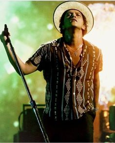 Bruno Mars. Saw him on MTV performing gorilla - best performance on that night.