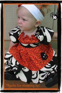 Halloween Spider Dress - Momi boutique