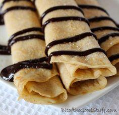 Vegan Crepes - Simple to make & uses store cupboard ingredients ¦ Bit of the Good Stuff