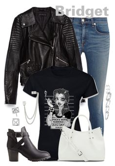 """""""Bridget"""" by alyssa-eatinger ❤ liked on Polyvore featuring rag & bone, Zara, Disney, Vince Camuto, Charlotte Russe, French Connection, Kendra Scott, Rebecca Minkoff, women's clothing and women's fashion"""