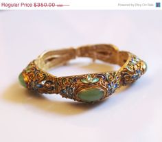 15 OFF ON SALE Chinese Vintage Bracelet Silver by DesignzByRuth, $297.50