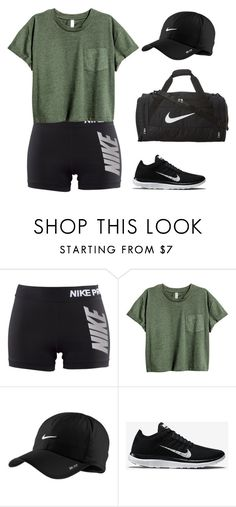 """Untitled #587"" by madelin-ruby ❤ liked on Polyvore featuring NIKE"