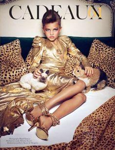 Burst in Style: Adorable or Tragic? Kids Do Vogue Paris