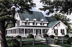 Farmhouse House Plan chp-47778 at COOLhouseplans.com