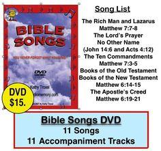 Audio Memory-Kathy Troxel (800)365-SING Educational Music/Books | Audio Memory/Educational Music/Videos/ Books | Bible : Bible Songs