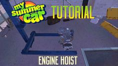 My Summer Car Tutorial | Engine Hoist  http://youtu.be/f8rVN9v50R0 In this Series I'll teach you how to accomplish various things in My Summer Car. Let me know what you have troubles with and I'll make you a Video! Thanks to ScottDogGaming for the idea! Watch his channel here: https://www.youtube.com/c/ScottDogGaming Twitter: http://twitter.com/genuineparts_ Get the Game: http://ift.tt/2eWBxwb MY SUMMER CAR is the ultimate car owning building fixing tuning maintenance AND permadeath life…