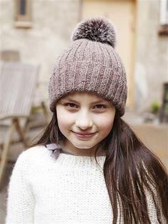 1410: Modell 4 Lue  #alpakka #strikk #knit