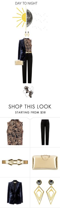 """""""Day to night"""" by drigomes ❤ liked on Polyvore featuring Glamorous, Alberta Ferretti, Marni, Chloé, Emilio Pucci and Sarah Magid"""