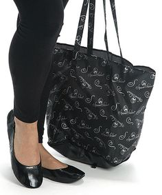 Another great find on #zulily! Black Metro Flat & Wristlet by Spare Soles #zulilyfinds