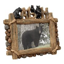 Bear Cabin Picture Frame